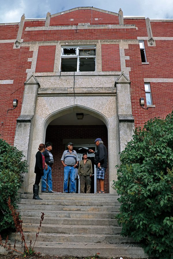 Muscowequan Residential School today