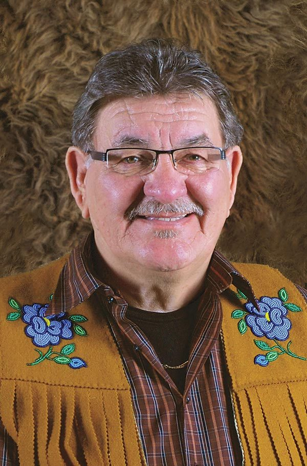 Norman Fleury is a leader of preserving the Michif language.