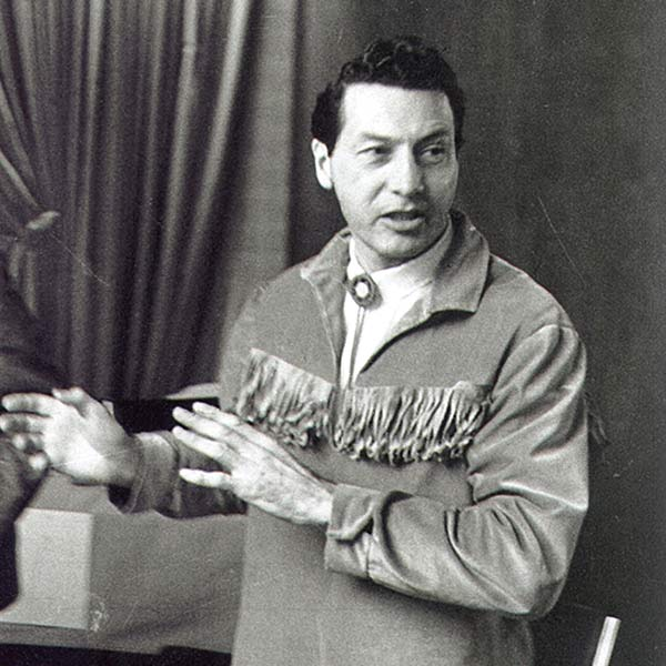 Howard Adams, the late prominent Métis activist.