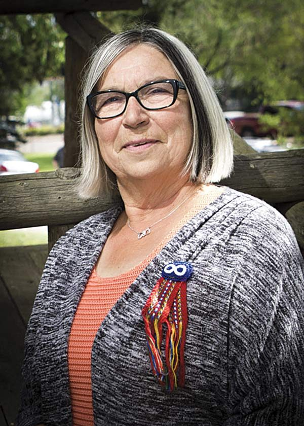 Audrey Poitras, President of the Métis Nation of Alberta.