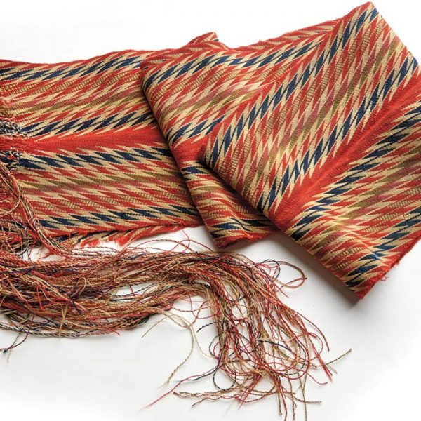 Traditional Métis sash from the 19th century.