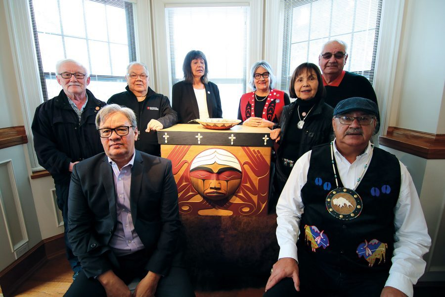 Members of the National Centre for Truth and Reconciliation's Survivors and Governing circles.