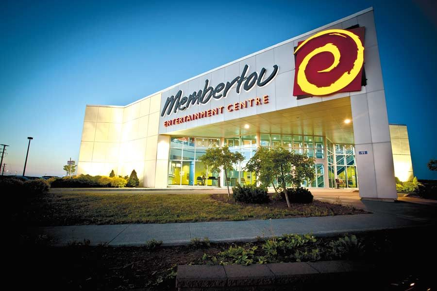 The Membertou Entertainment Centre in Nova Scotia.