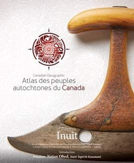 Inuit Illustration de la couverture de la section